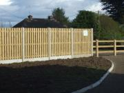 Post & Panel Fencing