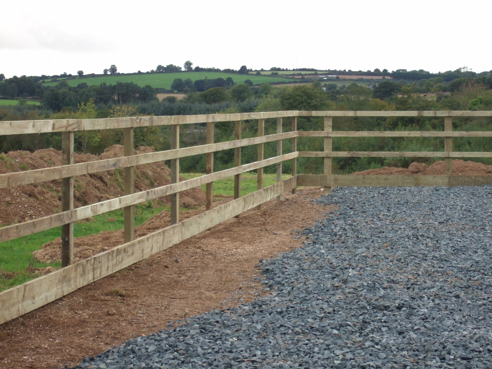 Horse Arena 4 Bar Post Amp Rail Fencing 1 2 Coole