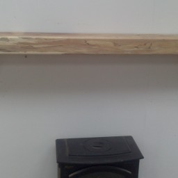 Spalted Beech with Triangular Corbels