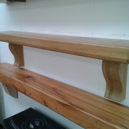 Irish Oak Timber Mantel