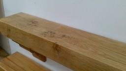 Irish Oak Timber Mantel