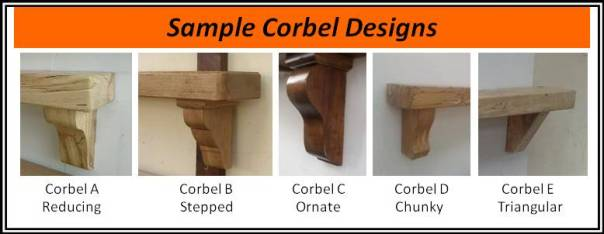 Popular Corbel Designs