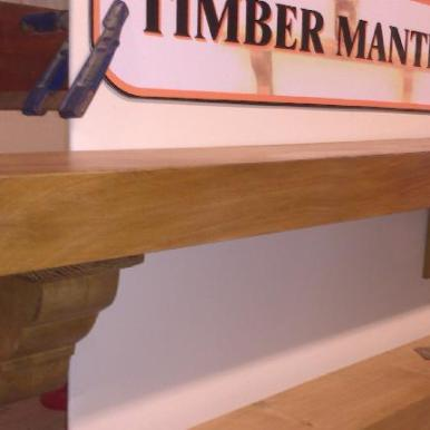 Irish Oak Mantel