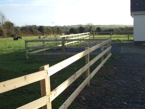 3-Bar Post & Rail Fencing