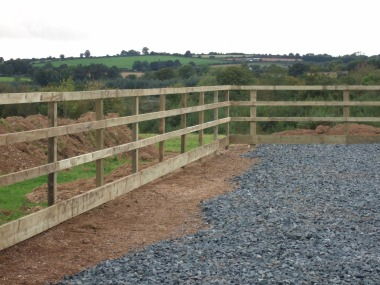 Horse Arena 4 Bar Post & Rail Fencing 1 (2)