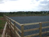 Horse Arena 4 Bar Post & Rail Fencing