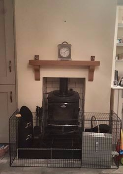 Oak Mantel 3.2ft American Oak
